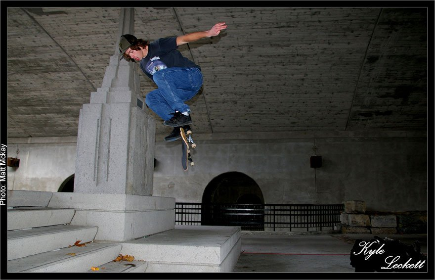 Me Skateboarding again