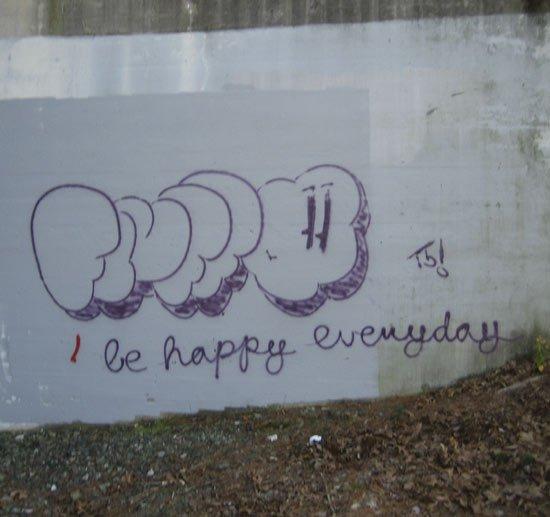 Be happy everyday