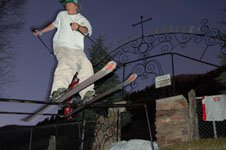 2nd angle knobbed rail