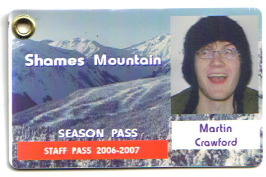 Look at my pass!