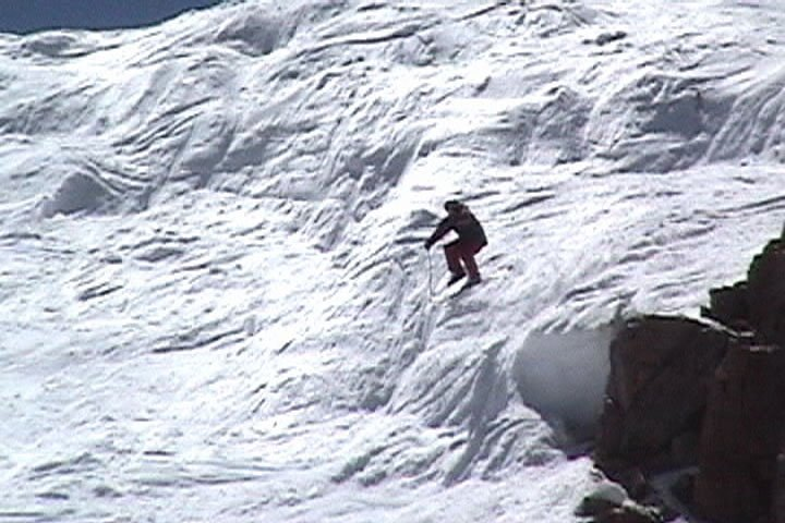 Dropping Into Chute 2