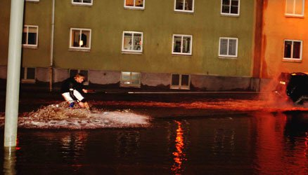 Wakeboarding The Street
