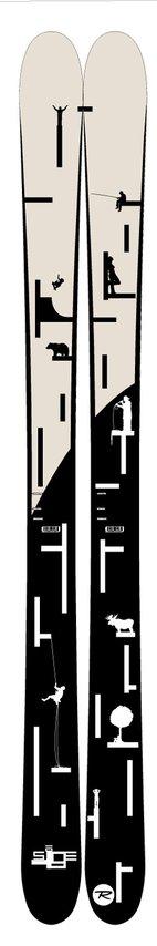 Iffy ski design