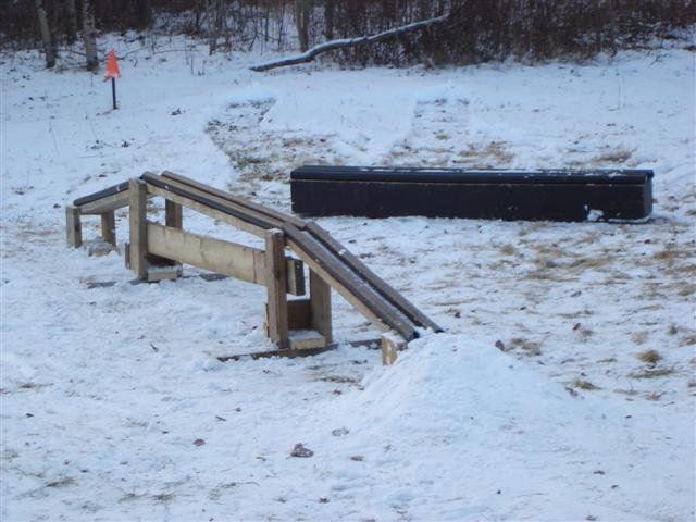 My back yard new rail