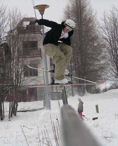 One futer street railslide :)