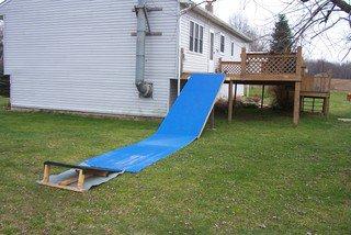 Deck drop in