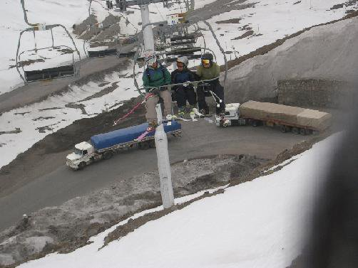 Craziest Ski Lift Ever