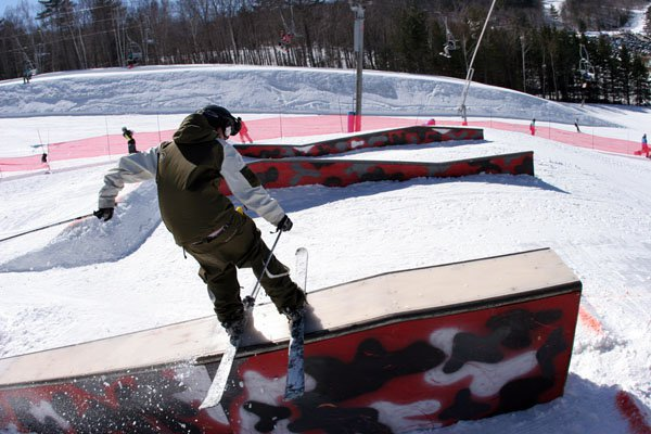 Old pic from rail jam last year