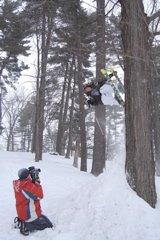 Backyard tree jib