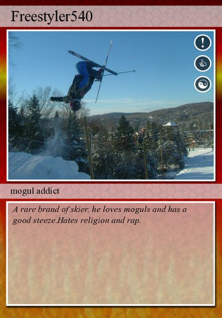 My trading card
