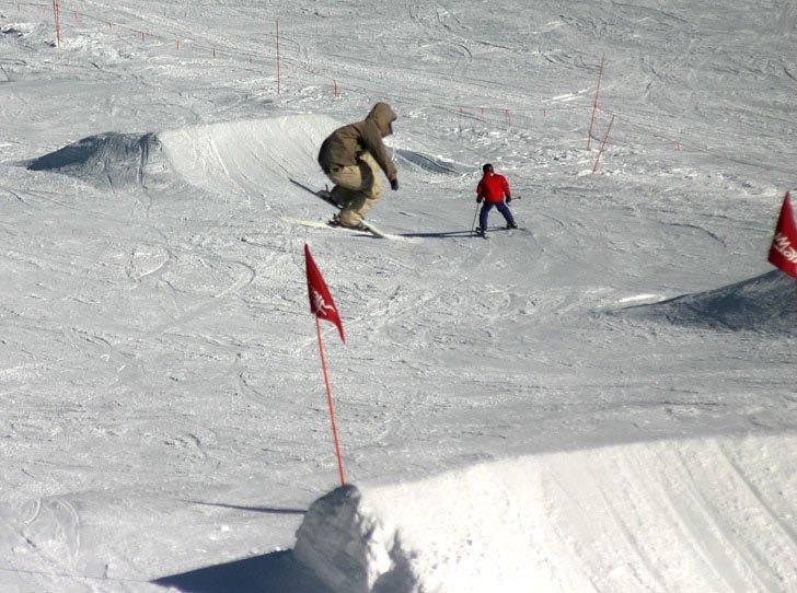 Mammoth jumping