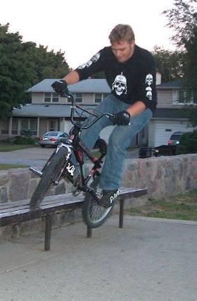 Rockin the BMX