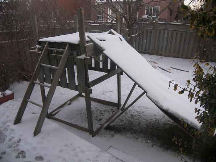 Backyard Drop In