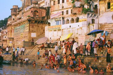 Varanasi steps