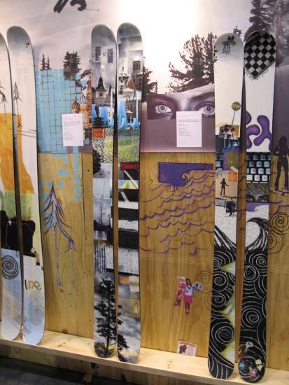 Line Eric Pollard skis