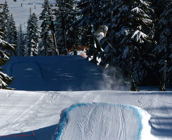 Air at stevens pass