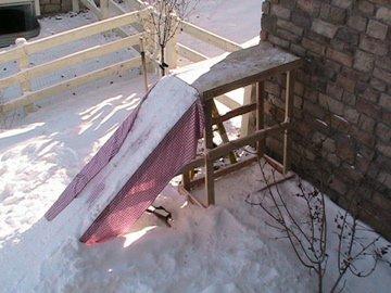 Backyard Set Up