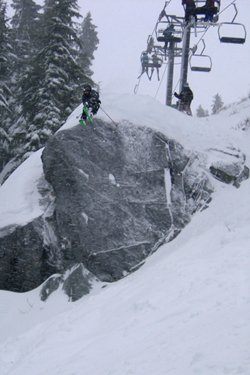 Tye rock drop