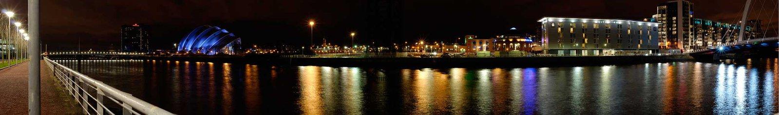 Night river pano 4