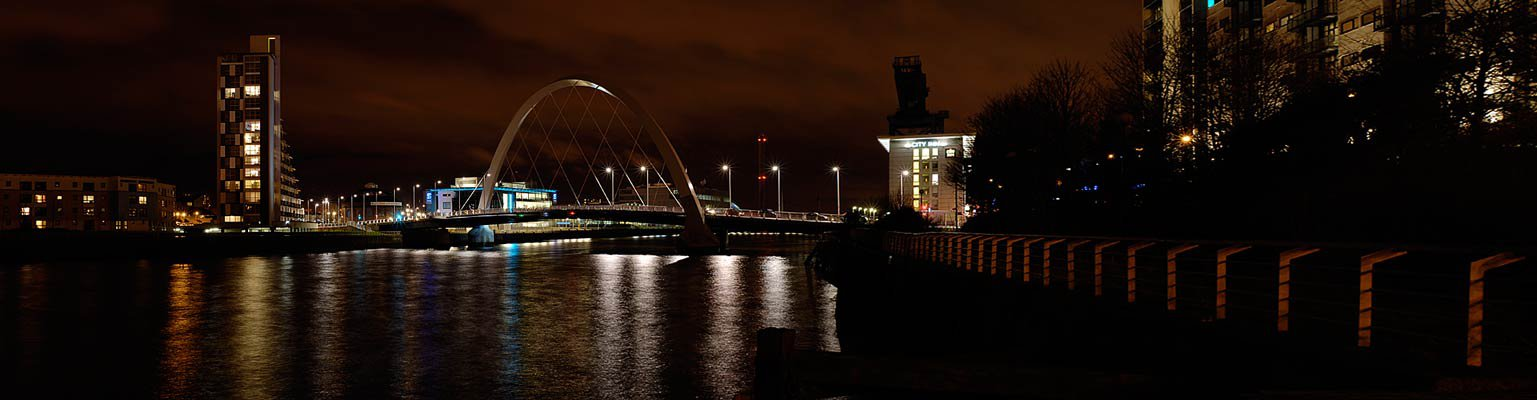 Night river pano 3