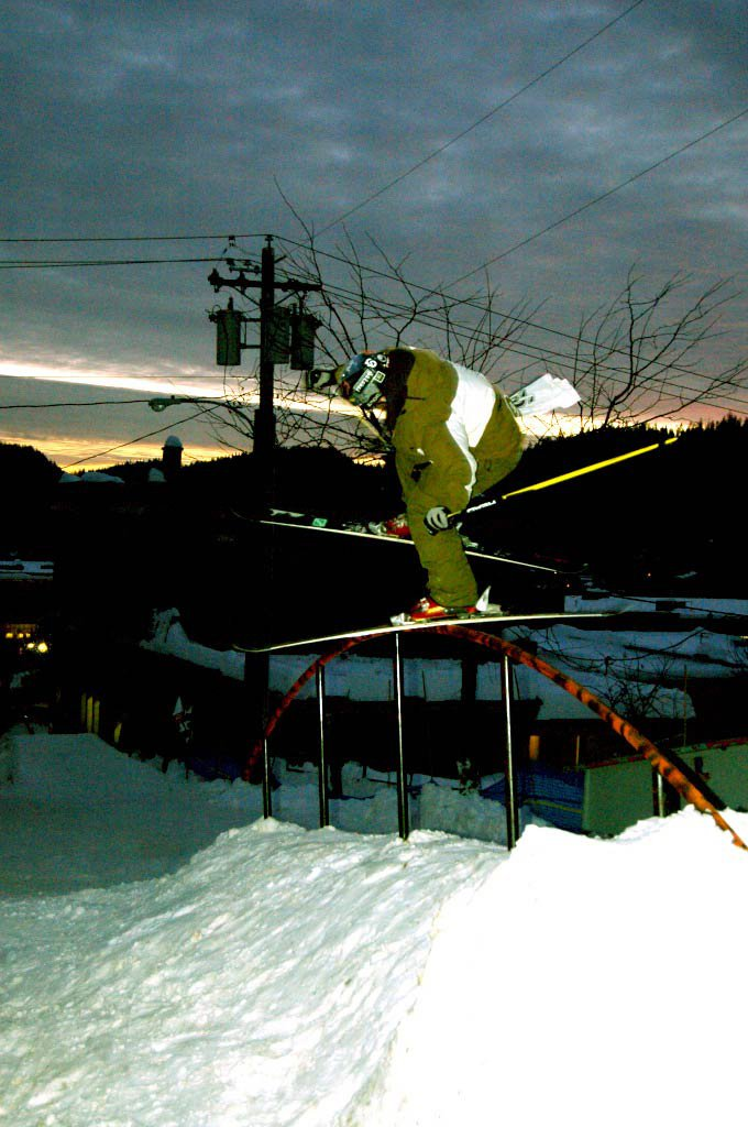 Backslide@ The Game Rossland Rail Jam