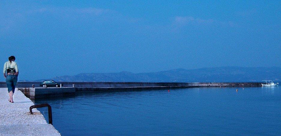 Abi on the Pier