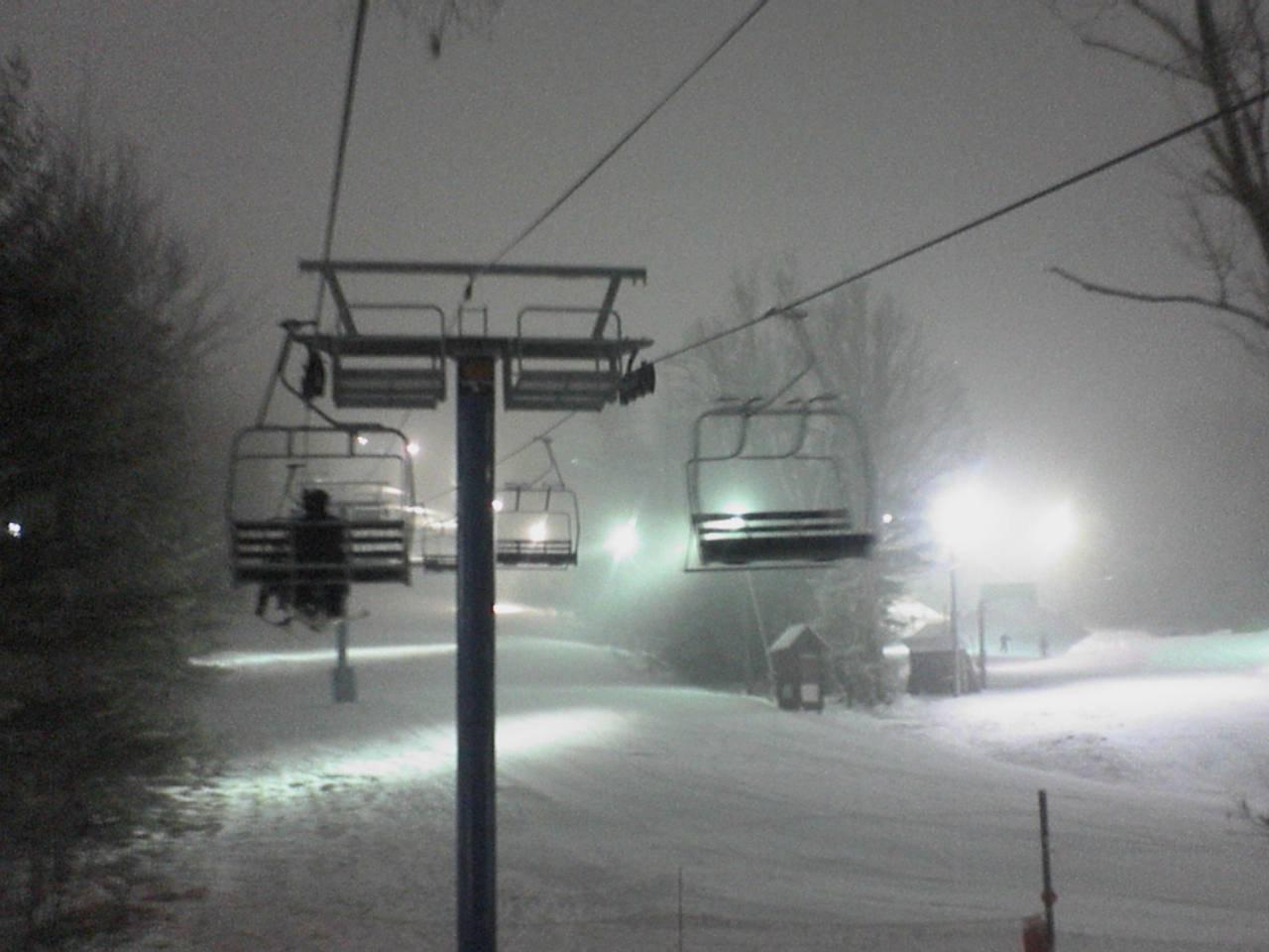 Yeahhh snowin at my mountain