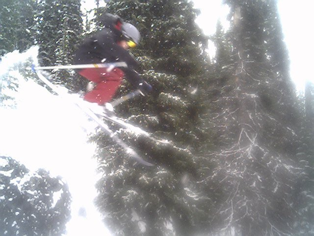 This was hard to land because it was blury out
