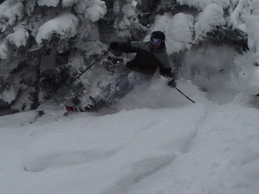 Powder in Vermont