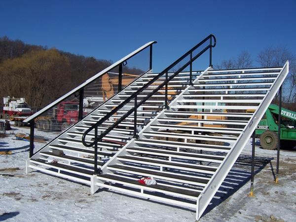 Staircase without the FD box