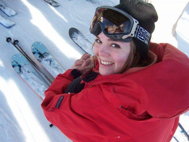 Skiing is happy!!