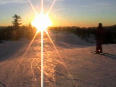 Boreal night ski