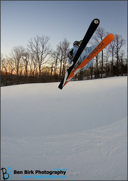 Air to Fakie at Roundtop