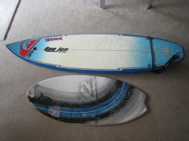 Surf and Skimboard