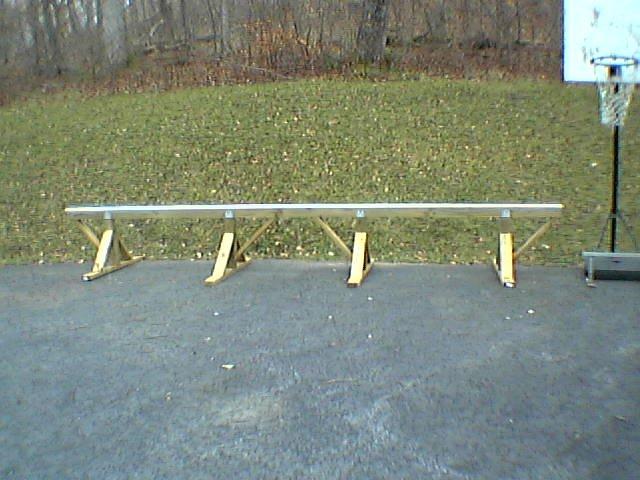 Pvc rail