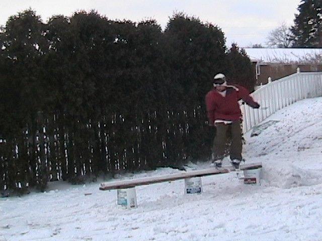 Backyard sesh