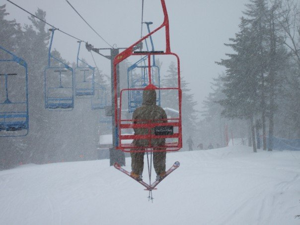 Alone on the love chair