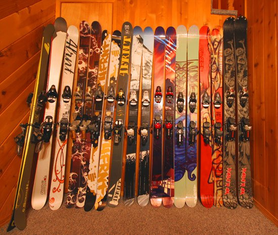 Some of our skis