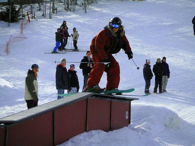 Swedish dude railing