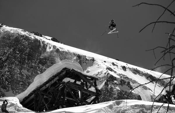 Alta Lakes Tressle jump