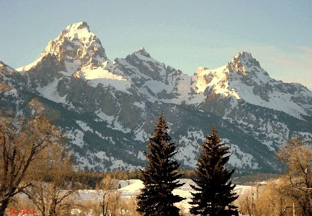 Dornan's View of the Tetons