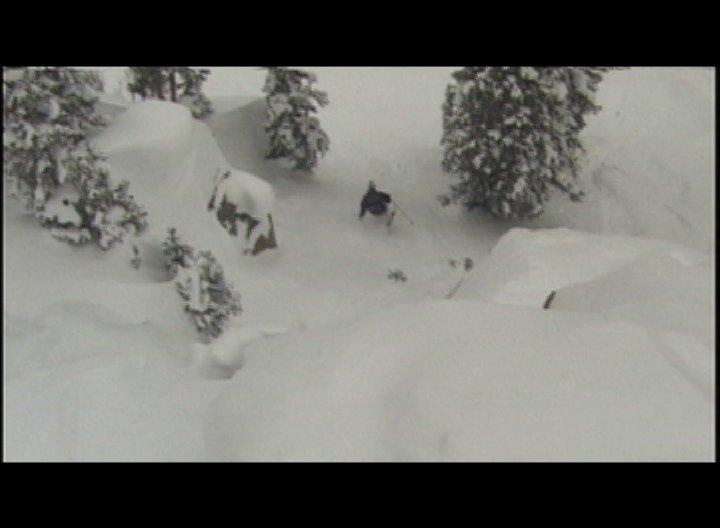 Leaving the chute