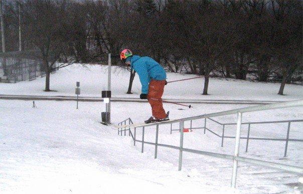 First handrail