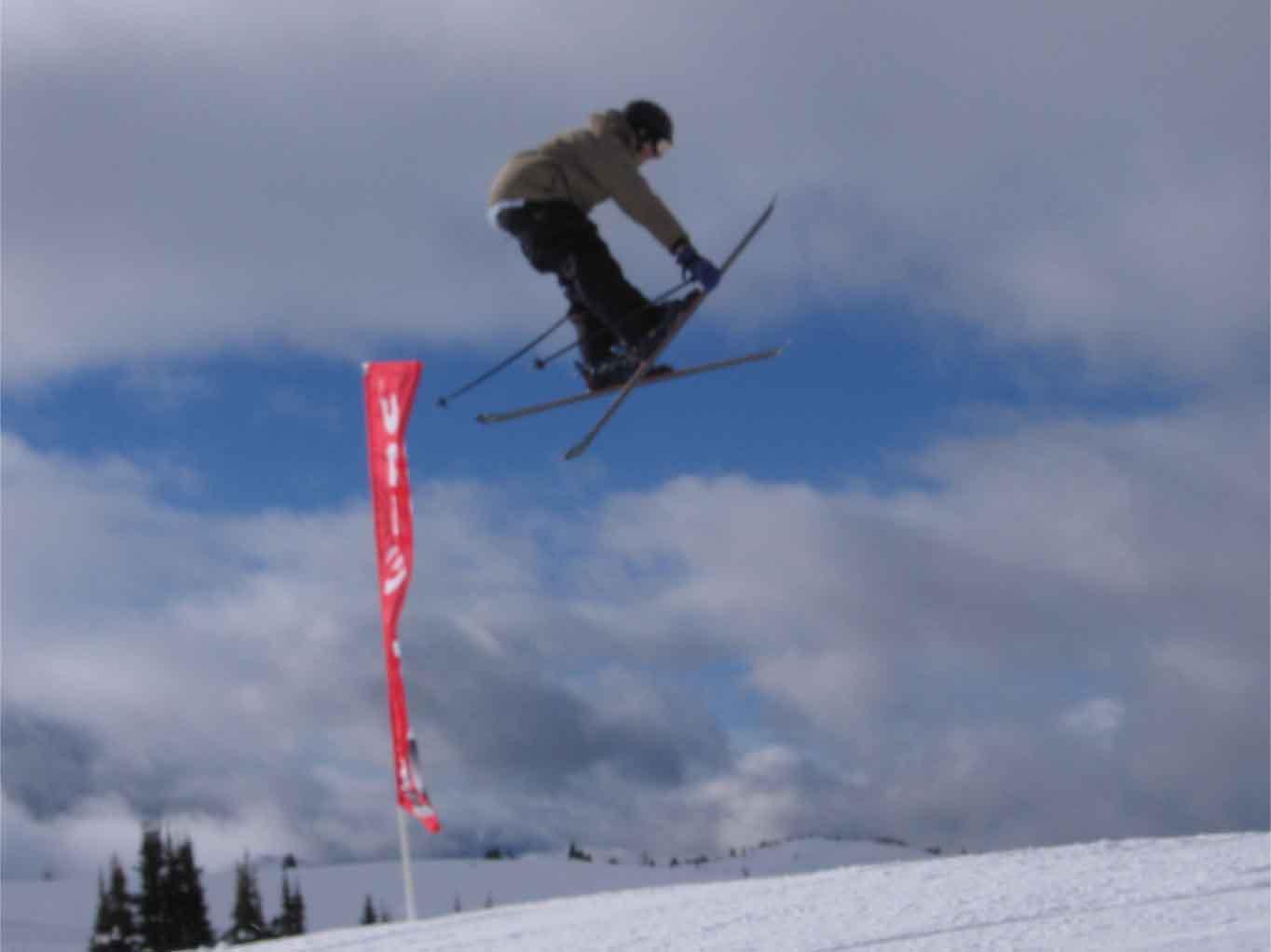 Hitting a jump
