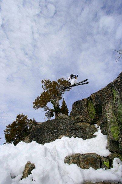 Cliff drop 360