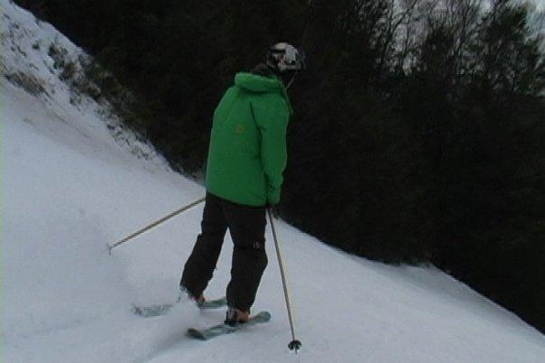 Just skiing