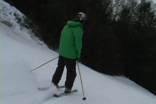 Just skiing