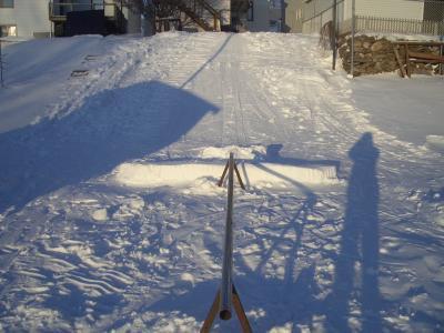 My backyard rail 2