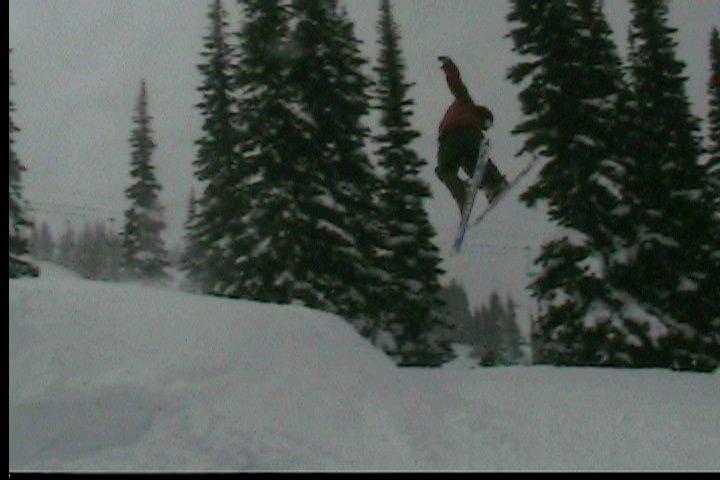 No poles, new skis?