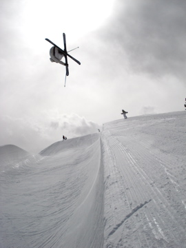 Everly Gohman pipe hit at Breck